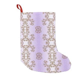 Meia De Natal Pequena violeta
