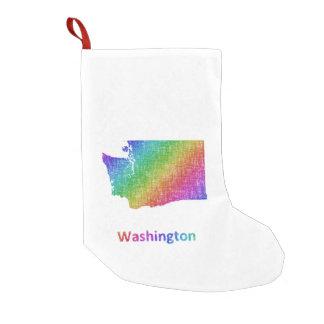 Meia De Natal Pequena Washington