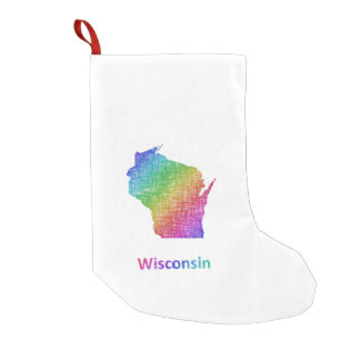 Meia De Natal Pequena Wisconsin