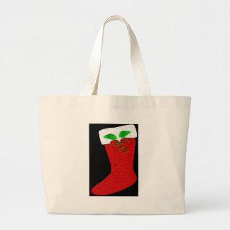 Meia do Natal Bolsas De Lona