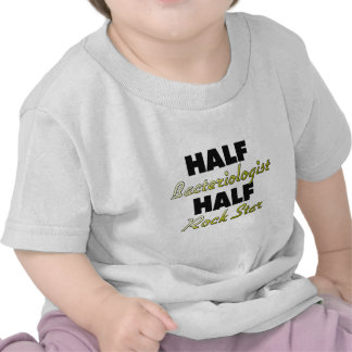 Meia estrela do rock do meio Bacteriologist T-shirt