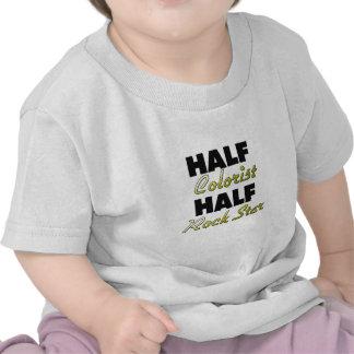 Meia estrela do rock do meio Colorist Camiseta