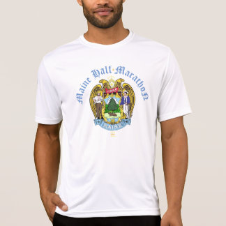 Meia maratona de Maine Camiseta