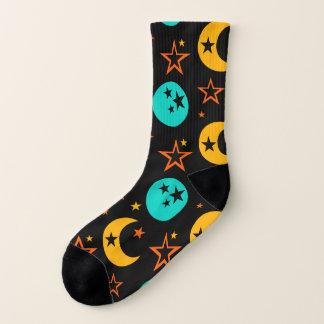 Meias A lua Stars a astrologia estrelado Wiccan da