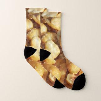 Meias amendoins toda sobre - imprima meias, handwork,