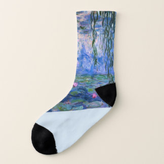 """Meias De """"meias dos lírios água"""" de Monet"""