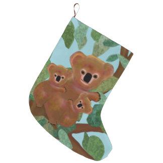 Meias do Natal do eucalipto dos Koalas Meia De Natal Grande