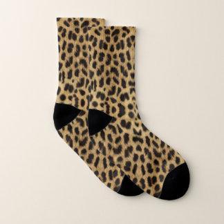 Meias do teste padrão do leopardo