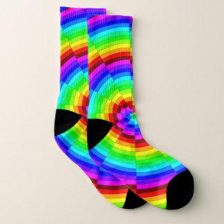 Meias Espiral do arco-íris por Kenneth Yoncich