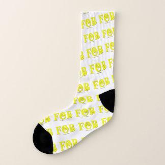"""Meias FOB """"toda sobre - imprima meias, grandes homens"""