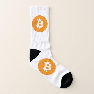 Meias Logotipo de Bitcoin