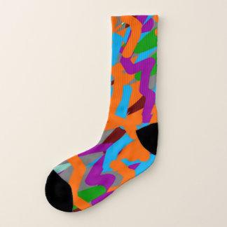 Meias Toda sobre - imprima as meias, grandes (homens dos