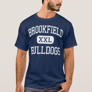 Meio Brookfield dos buldogues de Brookfield Camiseta