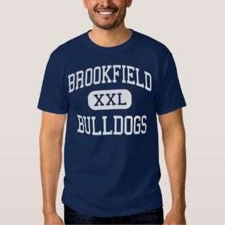 Meio Brookfield dos buldogues de Brookfield Camisetas
