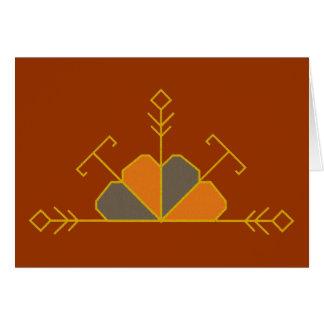 Meio cartão letão do saulite