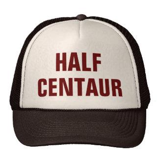 Meio chapéu do camionista do centauro boné