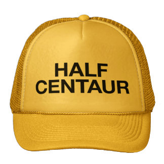MEIO chapéu do camionista do slogan do Boné