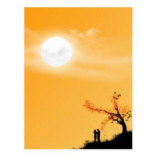 Meio-dia Sun Cartão Postal