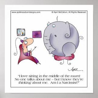 MEIO do poster dos desenhos animados da SALA Pôster