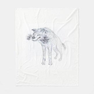 meio geral do lobo cobertor de lã