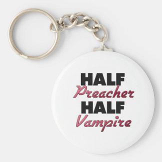 Meio vampiro do meio pregador chaveiros