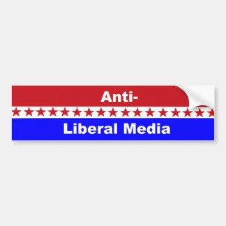 Meios Anti-Liberais Adesivo Para Carro