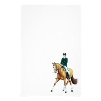 Meios artigos de papelaria do cavalo do adestramen