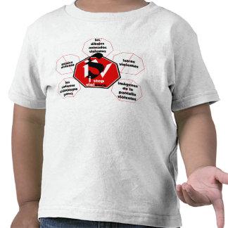 meios Violence© da parada da T-camisa-Eu T-shirts