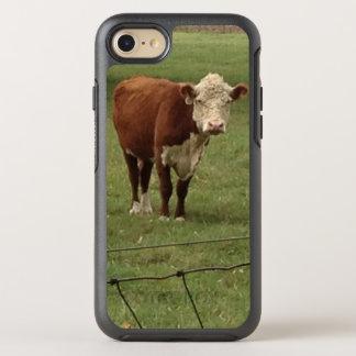 Mel de Hereford em pastos verdes Capa Para iPhone 8/7 OtterBox Symmetry
