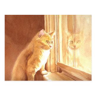 Mel o cartão do gatinho