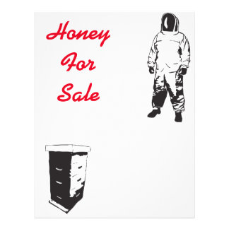 Mel para a venda flyer 21.59 x 27.94cm
