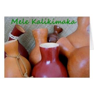 Mele Kalikimaka Cartões