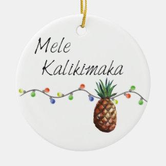 Mele Kalikimaka - enfeites de natal