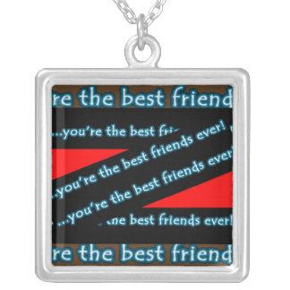 Melhor amigo nunca pingentes
