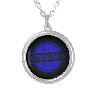 Melhor amigo sempre azul bijuteria