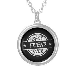 Melhor amigo sempre branco colares