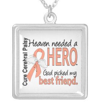 Melhor amigo uterina do cancer do herói necessário bijuteria personalizada