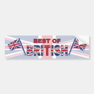 Melhor de Ingleses Adesivo Para Carro