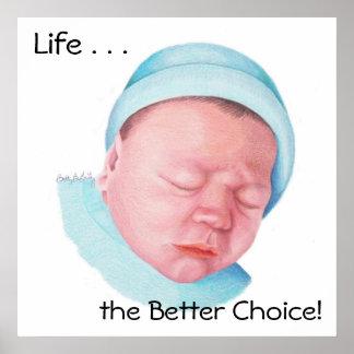 Melhor escolha por recém-nascido pôster