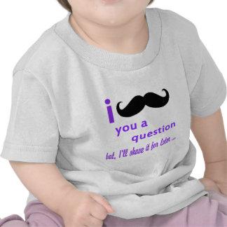 Melhor popular mim bigode você uma camisa da pergu tshirt
