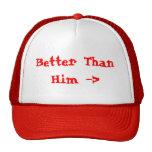 Melhore do que ele o chapéu bonés