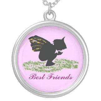 , Melhores amigos Colar Banhado A Prata