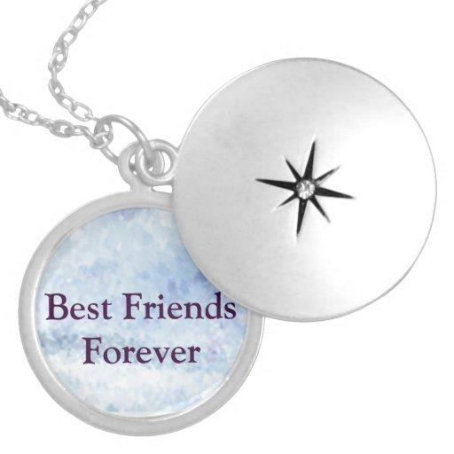 Melhores amigos para sempre colar