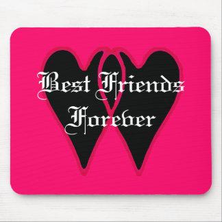 Melhores amigos para sempre os presentes de Zazzle Mousepad