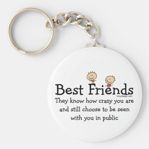 Melhores amigos chaveiros
