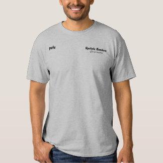 membro oficial, do norte do estado bombardeiros, camiseta