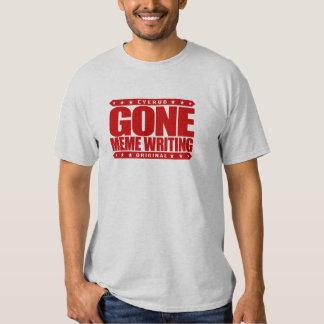 MEME IDO ESCREVENDO - o Internet engraçado graceja T-shirts