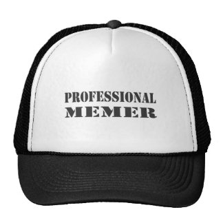 Memer profissional boné