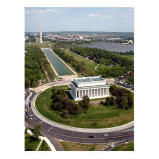 Memorial de Lincoln Cartões Postais