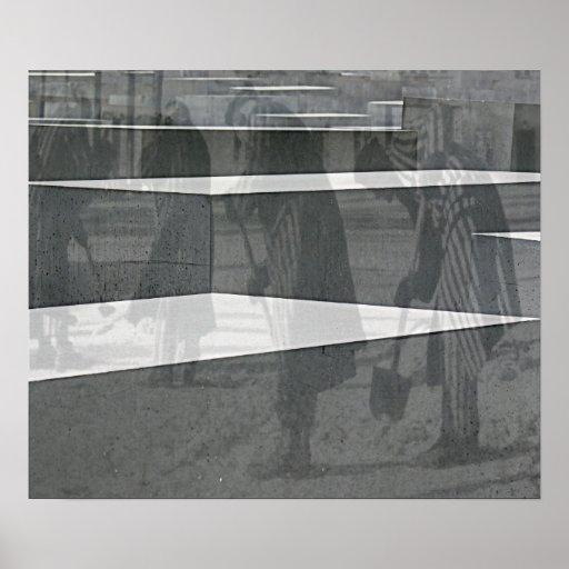 Memorial do holocausto (Denkmal), Berlim (j2mer1) Poster